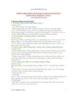 Tổng Hợp một số kinh nghiệm  giải toán hình học không gian CẤp 3