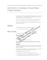 Tài liệu Activity 4.4: Creating a Future-State Usage Scenario pdf