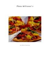 Tài liệu Pizza Al Fresco'''' s pptx