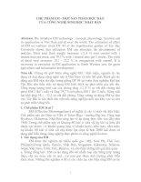 Tài liệu CHẾ PHẨM EM - MỘT SẢN PHẨM ĐỘC ĐÁO CỦA CÔNG NGHỆ SINH HỌC NHẬT BẢN ppt