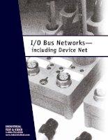 Tài liệu I O Bus Networks - Including Device Net docx