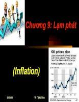 Tài liệu Giáo trình Kinh tế vĩ mô - Chương 9 ppt