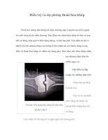 Tài liệu Điều trị và dự phòng thoái hóa khớp pdf