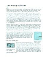Tài liệu Xem phong thủy nhà pdf