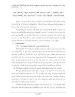 Tài liệu LVTN: Hoạt động PR tại công ty Bảo Việt Nhân thọ Sài Gòn: Chương III pptx