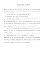 Gián án de thi hoc sinh gioi vat li 8