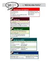 Tài liệu 50 NATURAL ENGLISH TIPS doc