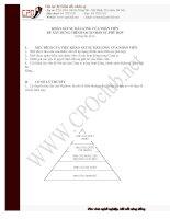 Tài liệu Nội dung khảo sát sự hài lòng của nhân viên pptx