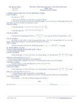 Tài liệu Đề thi tuyển sinh Đại học, cao đẳng môn Toán - Đề số 3 doc