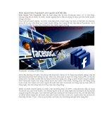 Kinh doanh trên Facebook cho người mới bắt đầu