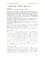 Tài liệu Kỹ năng Làm Chủ Bản Thân pdf