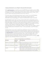 Tài liệu Using an XmlDataDocument Object to Store an XML Document pdf