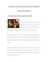 Tài liệu NHỮNG CÂU CHUYỆN SONG NGỮ ANH-VIỆT DÀNH CHO TRẺ EM 14 pdf