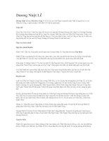 Tài liệu Dương Nhật Lễ doc
