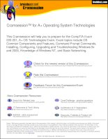 Tài liệu CompTIA A+ Operating System Technologies docx