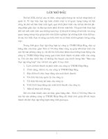Báo cáo Thực tập tổng hợp tại công ty TNHH Hiệp Hưng