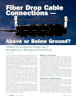 Tài liệu Different Circumstances Dictate Use of Aboveground or Belowground Connectivity pptx