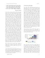 Tài liệu LIỆU GDP BÌNH QUÂN NGƯỜI CỦA VIỆT NAM CÓ THỂ ĐUỔI KỊP CÁC NƯỚC PHÁT TRIỂN? ppt