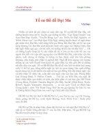 Tài liệu Tổ sư Bồ đề Đạt Ma doc