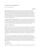 Tài liệu Làm việc với tính năng Offline Files doc