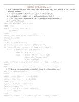 Bài tập Pascal cơ bản và hướng dẫn