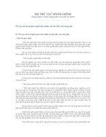 Tài liệu Thủ tục xử lý và giải quyết đơn khiếu nại lần đầu của công dân doc