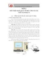 Tài liệu Phần 1: Giới thiệu khái quát về máy tính và các thiết bị ngoại vi docx