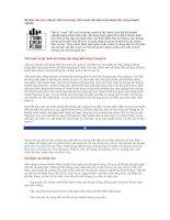 Tài liệu Để Báo cáo Lưu chuyển tiền tệ dương docx