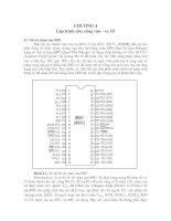 Tài liệu Giáo trình vi điều khiển 8051 P4 ppt