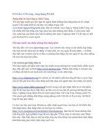 Tài liệu Những WEBsite tiện ích pdf