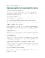Tài liệu Những câu hỏi phỏng vấn thông dụng pptx