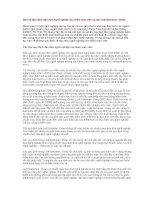 Tài liệu Bàn về Quy định đạo đức nghề nghiệp của Kiểm toán viên và đạo luật Sarbanes -Oxley docx