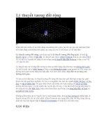 Tài liệu Lý thuyết tương đối rộng docx