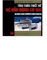 Tài liệu Tính toán thiết kế Hệ thống dẫn động cơ khí - Tập hai docx