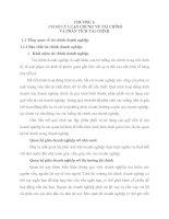 MỘT số GIẢI PHÁP NHẰM cải THIỆN TÌNH HÌNH tài CHÍNH tại CÔNG TY cổ PHẦN CÔNG NGHIỆP đúc VINASHIN