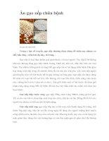 Tài liệu Ăn gạo nếp chữa bệnh pptx