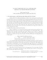 Tài liệu SỰ PHÁT TRIỂN ĐÔ THỊ VÀ XU THẾ BIẾN ĐỔI KHÍ HẬU TẠI THÀNH PHỐ HỒ CHÍ MINH ppt