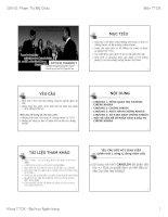 Tài liệu Giáo trình Thị Trường Chứng Khoán - ĐH Ngân Hàng Tp. HCM pdf