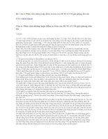 Tài liệu Phân tích những luận điểm cơ bản của HCM về CM giải phóng dân tộc Bị khoá Trả lời Liên hệ pdf