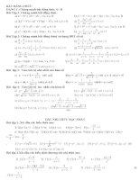 Bài giảng Tài liệu chương 4 dại số