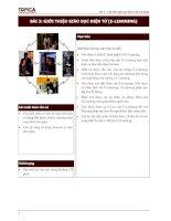Tài liệu Bài 3: Giới thiệu giáo dục điện tử (E-Learning) doc