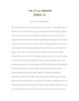 Tài liệu luyện đọc tiếng anh qua các tác phẩm văn học--THE LITTLE PRINCESS Chapter 10 doc