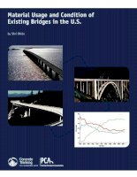 Tài liệu Material Usage and Condition of Existing Bridges in the U.S pptx