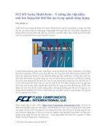 Tài liệu FCI MT Series Multi-Point – Ý tưởng cho việc kiểm soát lưu lượng khí thải liên tục cho ngành năng lượng ppt