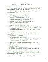 Bài soạn Bài tập Toán 10-PTTQ đường thẳng
