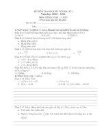 Bài giảng kiểm tra định kỳ cuối kỳ 1 lớp 5A
