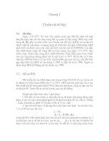 Tài liệu Chương 3: Chuẩn mã dữ liệu docx