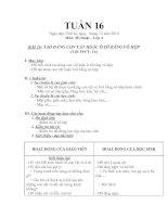 Bài giảng tuan 16-17