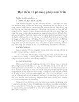 Tài liệu Đặc điểm và phương pháp nuôi trăn pptx