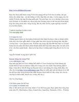 Tài liệu Những WEBsite tiện ích 7 docx